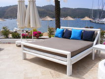 Entspannender Feiertag in Fethiye Stockbild