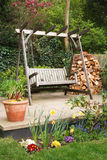 Entspannender Garten Lizenzfreies Stockbild