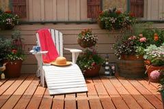 Entspannender Platz zum zu sitzen Lizenzfreie Stockbilder