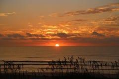 Entspannender Sonnenaufgang Stockbild