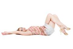 Entspannendes Mädchen Lizenzfreie Stockbilder