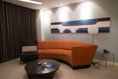 Entspannendes Wohnzimmer Stockfotografie