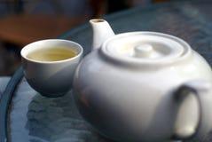 Entspannt Tee Stockbild