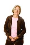 Entspannter aktiver Älterer Stockbild