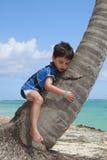Entspannung auf dem Strand Stockfoto