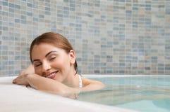 Entspannung am Badekurort Lizenzfreie Stockbilder