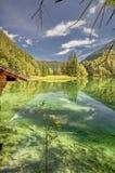 Entspannung an den Tyrol Seen Lizenzfreie Stockfotografie