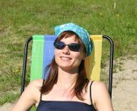 Entspannung in der Sonne Stockfotos