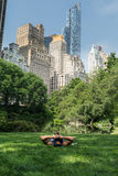Entspannung im Central Park, New York Stockfotografie