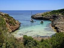 Entspannung in Majorca Stockbild