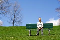 Entspannung nach einem Lack-Läufer lizenzfreie stockfotos