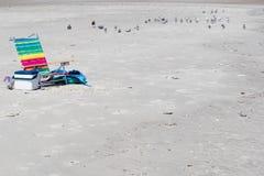 Entspannung am Strand Lizenzfreies Stockbild