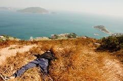 Entspannung unter dem Sonnenschein Lizenzfreie Stockfotos