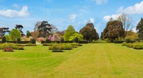 Entspringen Sie in botanischen Garten Kew, London, Großbritannien stockbilder