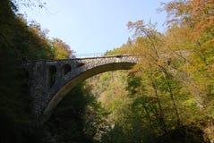 Entsteinen Sie Bogenbrücke Lizenzfreies Stockfoto
