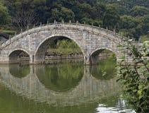 Entsteinen Sie Brücke Lizenzfreies Stockbild