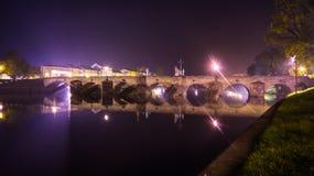 Entsteinen Sie Brücke lizenzfreie stockfotografie