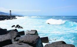 Entsteinen Sie Küste Stockbild