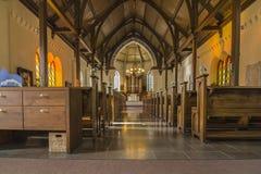 Entsteinen Sie Kirche Lizenzfreie Stockfotografie