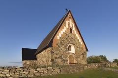 Entsteinen Sie Kirche Lizenzfreie Stockbilder