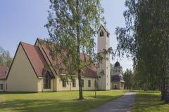 Entsteinen Sie Kirche Lizenzfreies Stockbild