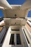 Enttrance a una mansión meridional Fotos de archivo