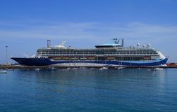 Entura,加那利群岛,西班牙- 2017年10月26日:Tui发现2游轮 免版税库存图片