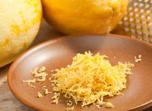 Entusiasmo de limão Imagem de Stock Royalty Free