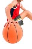Entusiasta del baloncesto Imágenes de archivo libres de regalías