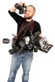 Entusiasta di fotographia Fotografia Stock Libera da Diritti