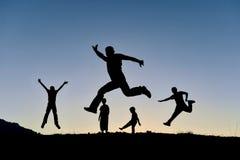 Entuzjastyczny, zdrowy i energiczny, zdjęcie stock