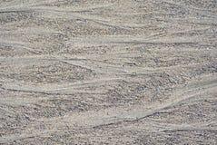 Entwässerung über Sand Stockfotos