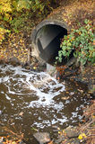Entwässerungrohr Stockbild