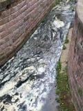 Entwässerungsgraben Stockbilder