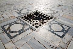 Entwässerungssystem der großen Moschee Stockbild