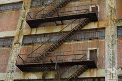 Entweichen-Treppe Lizenzfreies Stockfoto