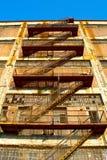 Entweichen-Treppe Lizenzfreies Stockbild