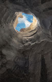 Entweichen von der Höhle Lizenzfreies Stockfoto