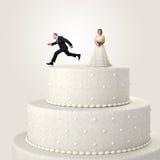 Entweichen von der Hochzeit lizenzfreies stockfoto
