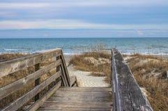 Entweichen zum Strand Stockfotos