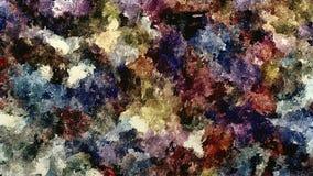 Entwerfen dekorativer Schmutzhintergrund des abstrakten Rasters, mit Beschaffenheiten von chaotischen Abstrichen, Tropfen der Aqu stock abbildung