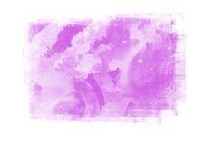 Entwerfen grafische Bürstenschlagmänner der Farbflecken Effektelement für Ba Lizenzfreies Stockbild