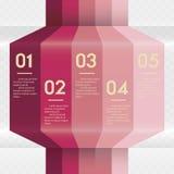 Entwerfen Sie saubere Zahlfahnenschablone/Grafik- oder Websiteplan Lizenzfreies Stockbild