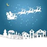 Entwerfen Sie Weihnachtsgrußkarte und guten Rutsch ins Neue Jahr-Mitteilung Stockbilder