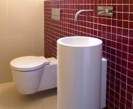 Entwerfer-Badezimmer Lizenzfreie Stockfotos
