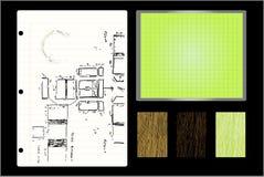 Entwerfer-Elemente Lizenzfreies Stockfoto