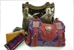 Entwerfer-Handtaschen lizenzfreies stockfoto
