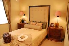 Entwerfer-Schlafzimmer stockbild