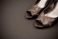Entwerfer-Schuhe stockbilder
