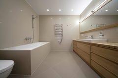 Entwerferbadezimmer Stockbild